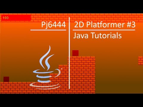Java 2D Platformer Tutorial #3 - The Game State Manager
