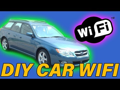 How To Add WiFi To Your Car