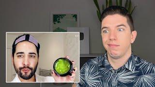 Reacting to James Welsh's Harper's Bazaar Skin Care Routine