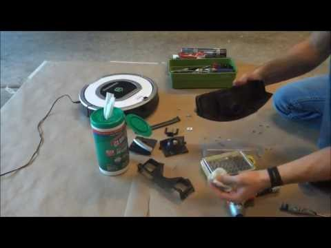 How To Tutorial: iRobot Roomba 760 770 780 Full Dust Bin Cleaning and Assembly