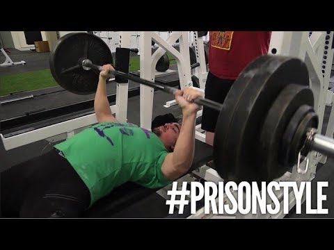 RAW HEAVY BENCH WORKOUT (WARNING: Prison Style)