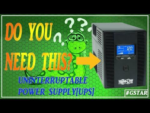 Uninterruptible Power Supply Unit[UPS] | Do you need one?