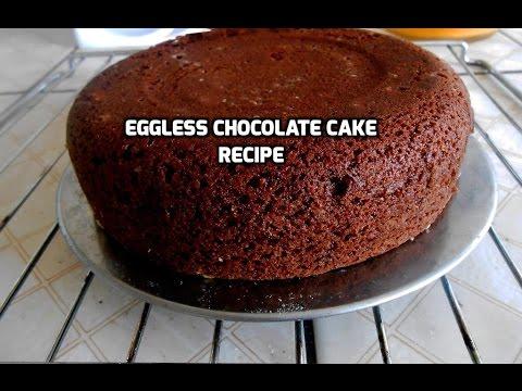 Eggless Chocolate Cake Recipe Gâteau au chocolat sans œufs recette