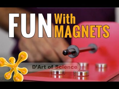 DIY Fun with Magnets and Levitation