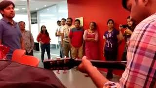 To Phir Aao (Cover) - extempore performance in colleague's farewell