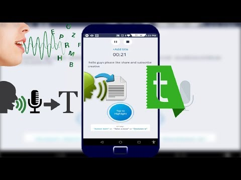 Easy to Convert Voice into Text Live in Android 2018