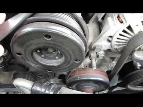 Removing serpentine belt - 2001 Jeep Grand Cherokee 4.7L V8