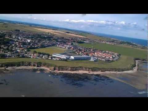 Sunderland International Airshow 21 July 2012 from RAF BBMF Lancaster