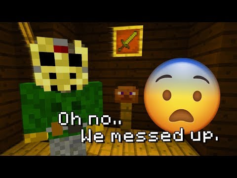 Do NOT Play Minecraft the day after Friday the 13th! (Jason Voorhees APPEARED)