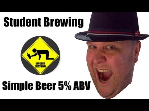 Student Brewing - How to make simple beer 5% ABV