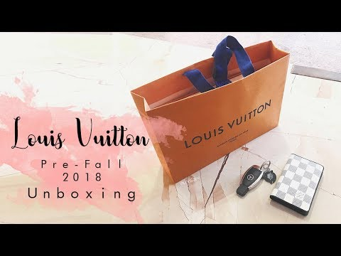 Louis Vuitton // Mens Pre Fall 2018 Unboxing - Pochette Apollo