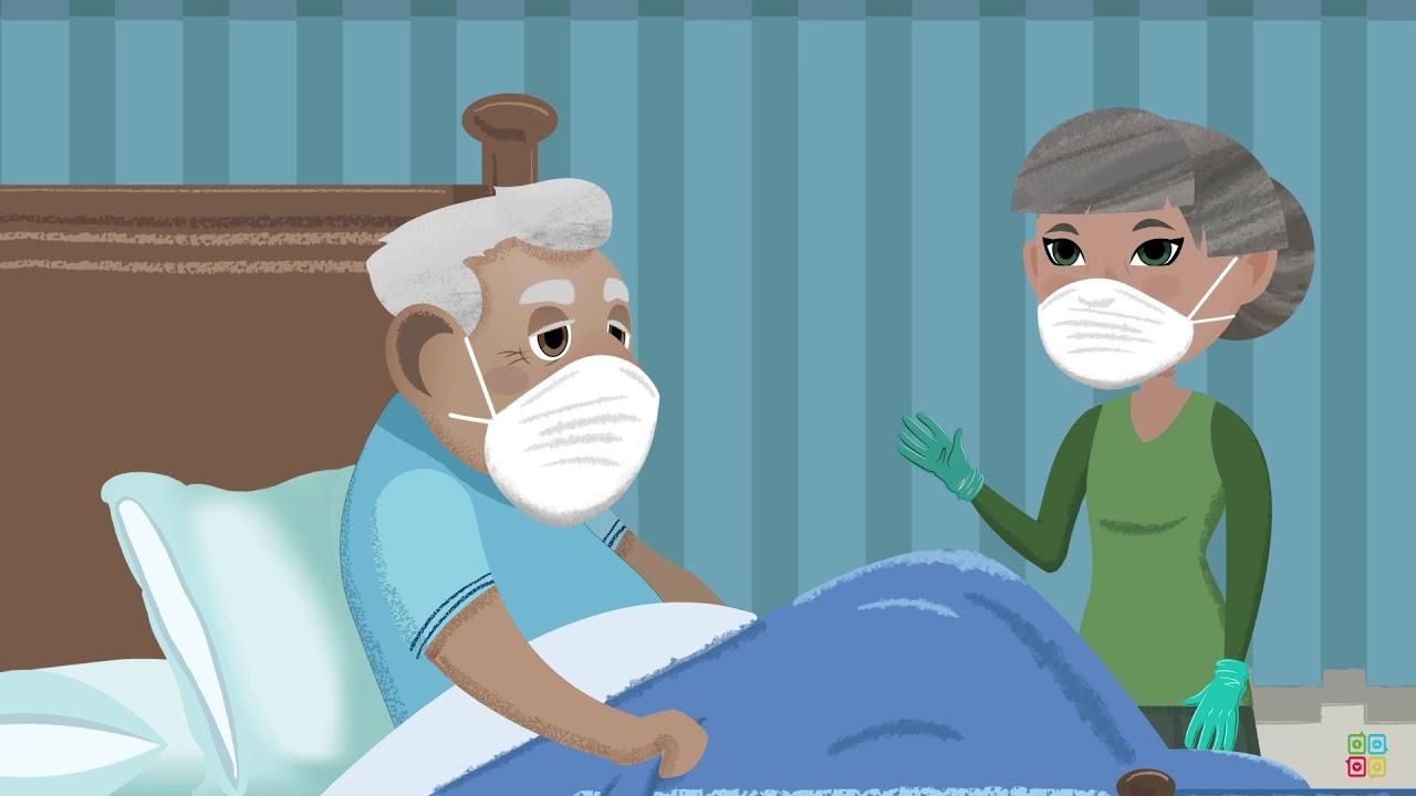 Cuidando a alguien enfermo con el Coronavirus