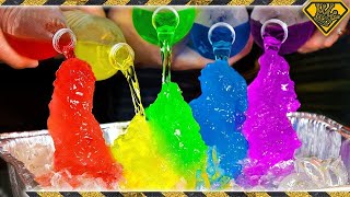 Download How To Make RAINBOW Instant Ice! Video