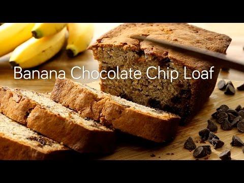 Banana Chocolate Chip Loaf