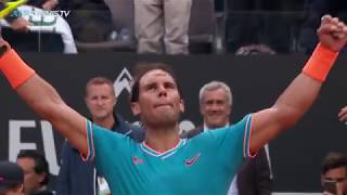 Download VINTAGE Rafa Nadal Forehand Winners v Tsitsipas | Rome 2019 Semi-Final Video