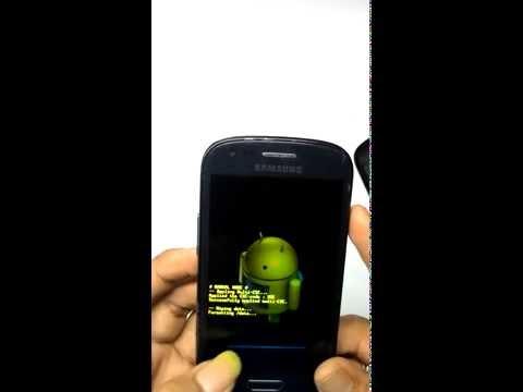 samsung galaxy S3 mini I8190 hard reset | unlock android