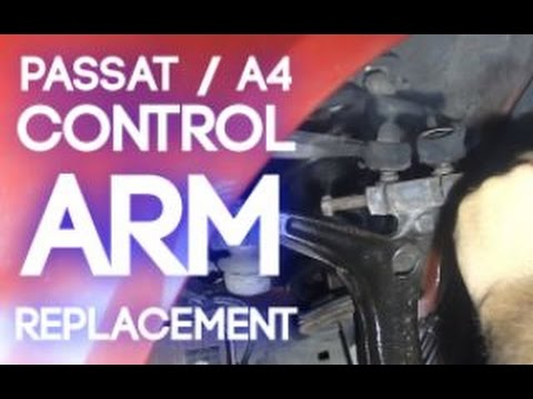 How To Remove Passat / A4 Upper Control Arms (B5)