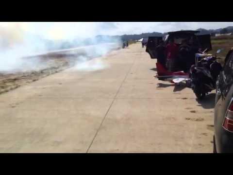 Viper Turbine, test smoke malah keluar api