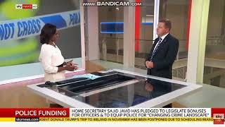 Graham Wettone Sky News 11 9 18 NAO Report on police funding