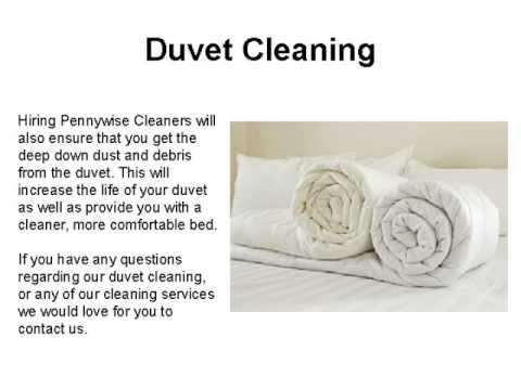 Duvet Cleaning