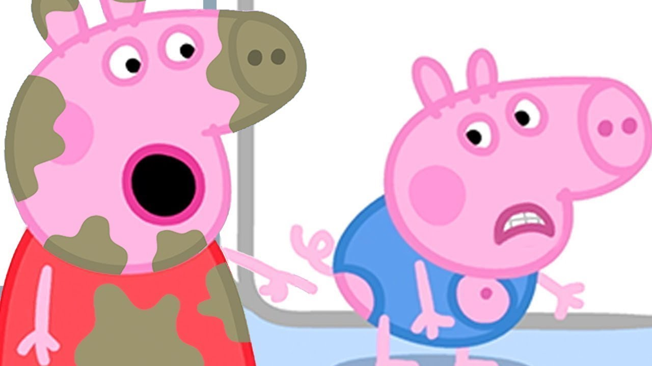 Peppa Pig Official Channel    George Pig's Clothes  Have Got Holes in Them!
