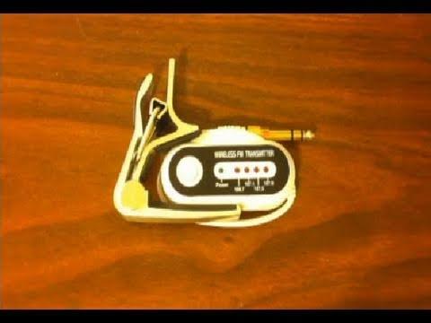 $12 Wireless Guitar / Bass Transmitter
