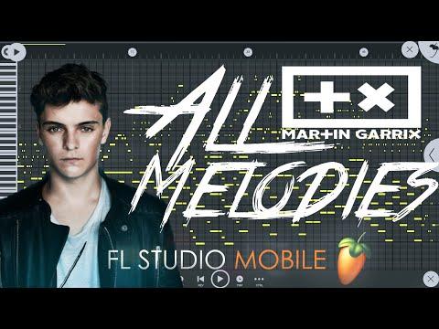 All Martin Garrix Melodies (Part 1) | Free FLM | Fl studio mobile | Martin Garrix | All Melodies