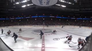 Gotta See It: Canucks vs Flames Puck Drop in 360º!