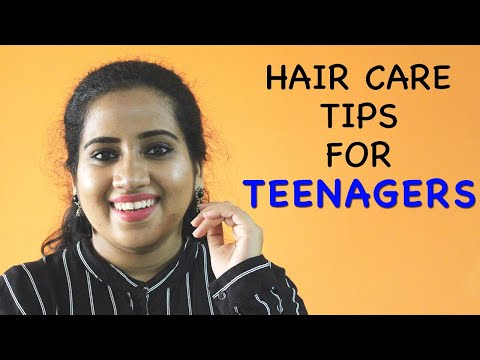 हेयर केयर टिप्स  | Hair Care Tips For Teenagers- Boys & Girls  | Happy Pink Studio