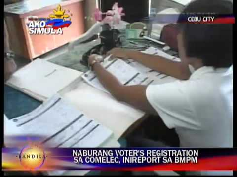 Deleted names in voters list reported to BMPM in Cebu