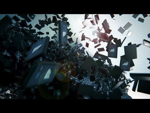 I Smashed 104,657 YouTube Play Buttons in Blender