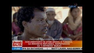 "UB: Dokumentaryo ni Atom Araullo tungkol sa Rohingya refugees, mapapanood sa ""I-Witness"" bukas"