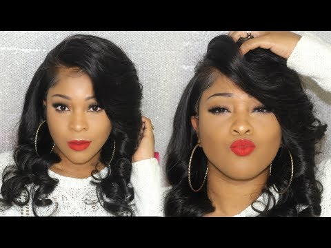 This Lace Front Wig Looks Like A Traditional Sew In | Deep Side Part | No Hair Out | HairSpells