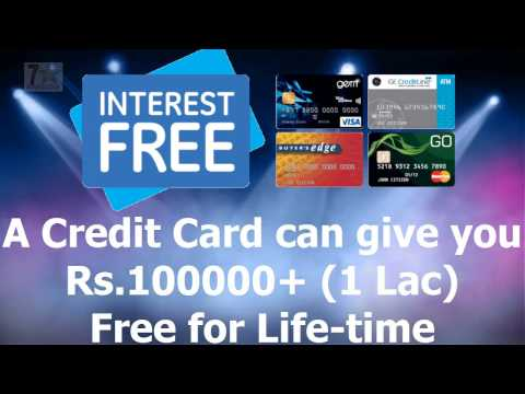 A Credit Card can give you Rs.1 Lakh & No need to repayment it, Working 100%  -Super Tricks