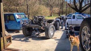Rebuilding A Wrecked Jeep Rubicon Part 5