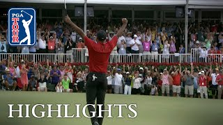 Tiger Woods wins TOUR Championship for 80th victory on PGA TOUR 2018
