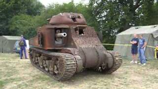 M3 Grant Tank - Home for my Radial Engine Beltring 2005