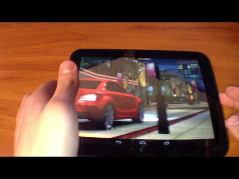 Gaming Test: HP Touchpad Running CM 10.2 (Android 4.3.1)