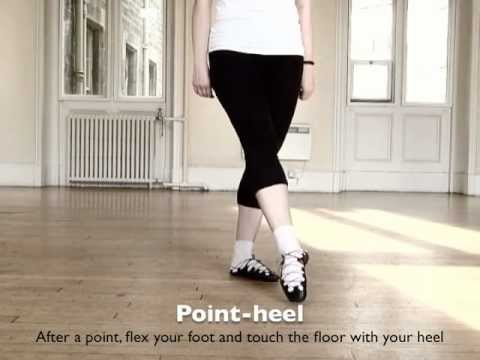 Irish dance: how to do a leap, hop, sevens, point and heel