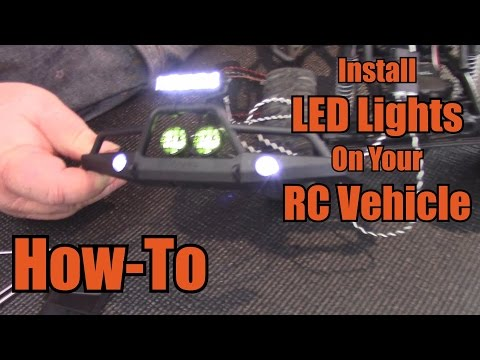 Install LED Lights On Your RC Vehicle - How-To