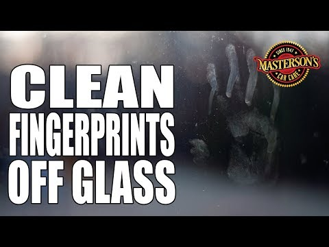 How To Clean Away Fingerprints On Glass - Porsche Macan - Masterson's Car Care