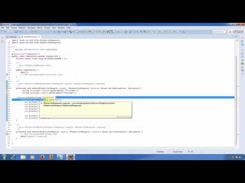 Java Beginner Tutorial - How to send data from JSP HTML FORM to servlet (POST/GET)