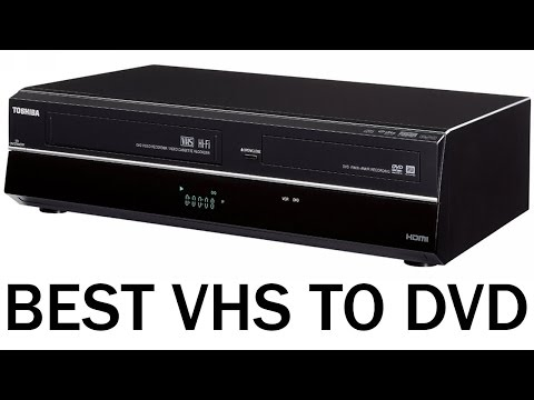 Best VHS to DVD Converter Machine