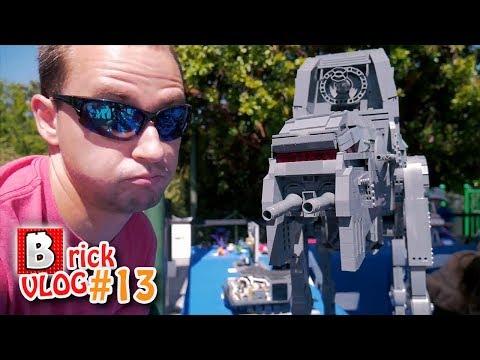 EYE to EYE with that LEGO BEAST! | Star Wars Days 2018 LEGOLAND California | Brick VLOG #13