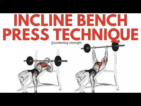Incline Bench Press for Beginners - Build Your Upper Chest!