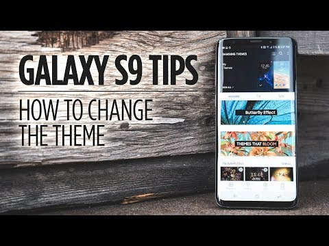 Samsung Galaxy S9 Tips - How to Change the Theme