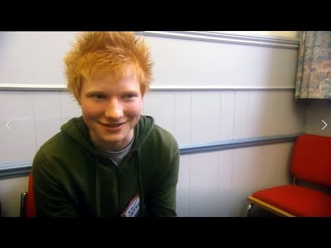 16 Year-Old Ed Sheeran auditions for Britannia High (2007)