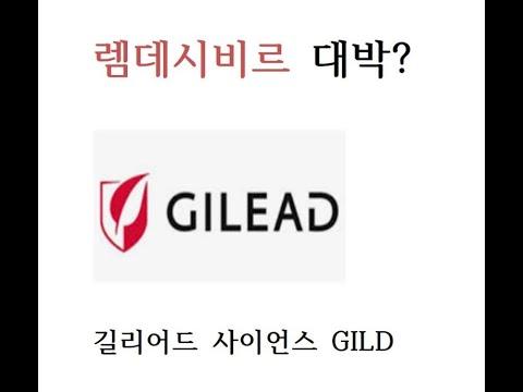 미국주식 렘데시비르 길리어드 분석 GILD Gilead