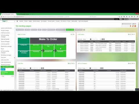 Delivery orders in Sage Enterprise Management (Previously Sage X3)