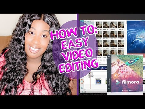 HOW TO: Easy Youtube Video Editing with Filmora